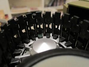 larvband på pansarvagnsdrivhjul