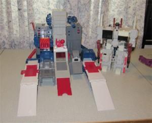 Fortress Maximus & Metroplex