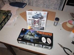 metall uppgraderings kit för henglong tigerpanter